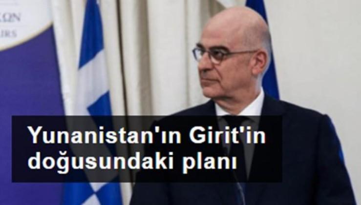 Yunanistan'ın Girit'in doğusundaki planı: Kara sularımızı genişletmeyi planlıyoruz