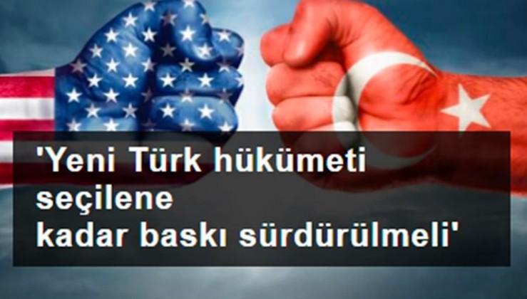 ABD'den yeni Türkiye raporu:Hükümete baskı sürdürülmeli