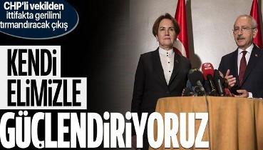 CHP'li vekil Fikret Şahin'den CHP ile İYİ Parti'nin arasını bozacak çıkış: Kendi elimizle güçlendiriyoruz
