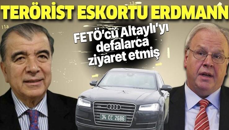 Her taşın altından Almanya çıkıyor! Büyükelçi Martin Erdmann eski MİT'çi Altaylı'yı düzenli olarak ziyaret etmiş!.