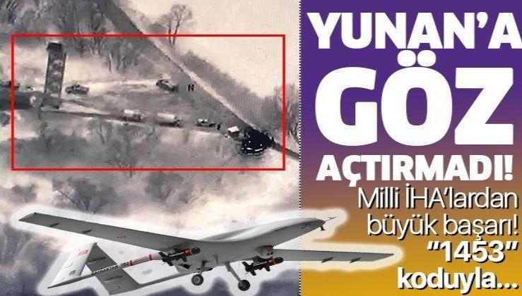 Milli İHA Bayraktar TB2 Türkiye'nin gökyüzündeki gözü oldu!.