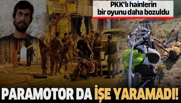 """PKK'lı teröristlerin Amanoslar'a uzanan """"paramotor oyunu"""" bozuldu   Paramotor nedir?"""