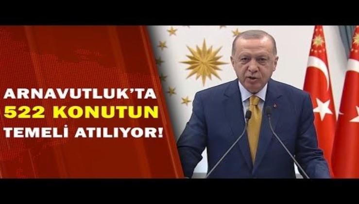 Türkiye- Arnavutluk dostluğunun yeni nişanesi olacak