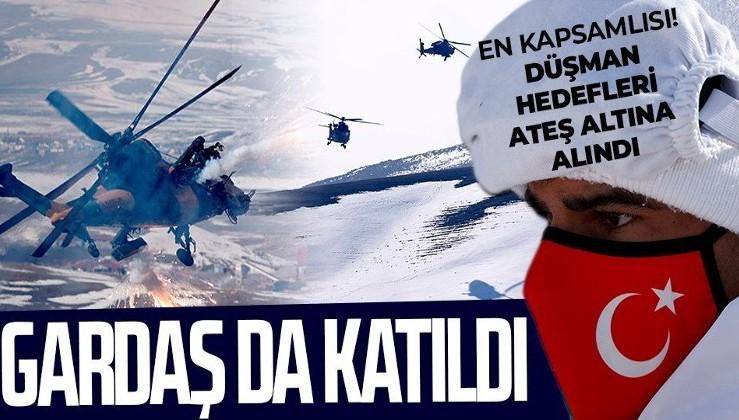 """Türkiye şov yaptı! TSK'dan nefes kesen """"Kış-2021"""" tatbikatı"""