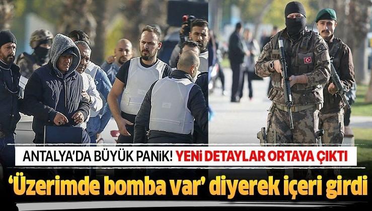 """Son dakika: Antalya'da bankada soygun girişimi! """"Bomba var"""" diyerek etkisiz hale getirdi."""