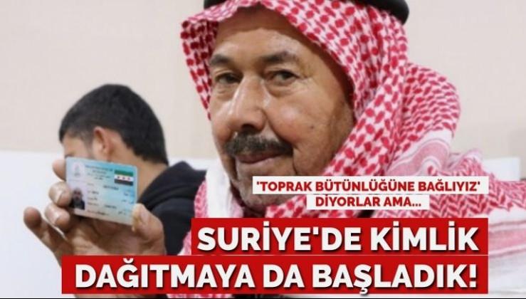 AKP hükümeti, Suriye'de kimlik dağıtmaya da başladı!