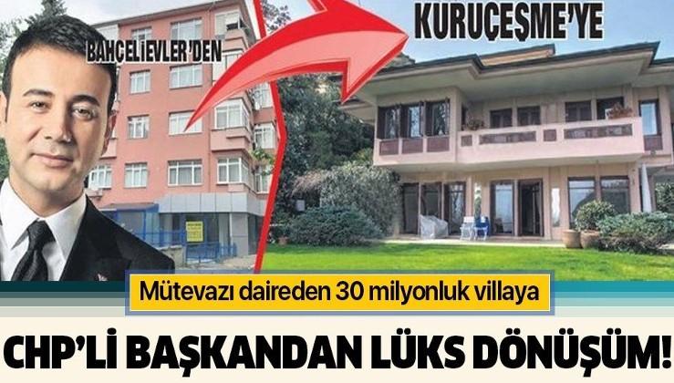 Beşiktaş Belediye Başkanı Rıza Akpolat'tan 'lüks' dönüşüm