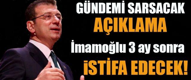 Olay yaratacak iddia: Ekrem İmamoğlu Mart ayında istifa edecek