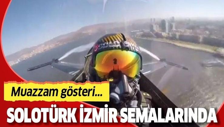 SOLOTÜRK, İzmir'in düşman işgalinden kurtulmasının yıl dönümünde gösteri yaptı