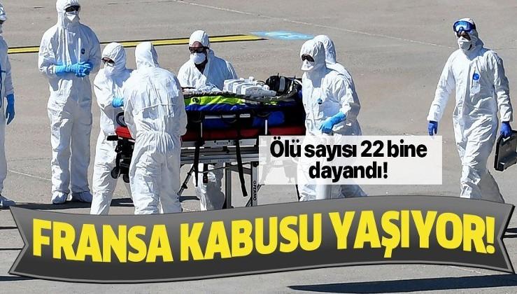 Son dakika: Fransa'da koronavirüsten ölenlerin sayısı 21 bin 856'ya yükseldi