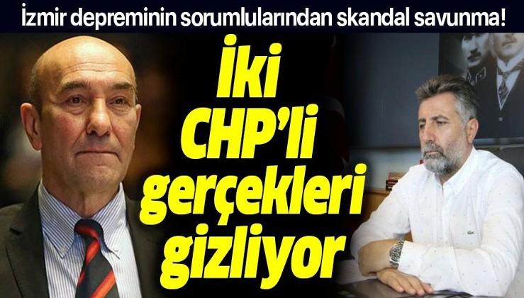 Tunç Soyer ve Serdar Sandal gerçekleri gizliyor! İzmir'de büyükşehir ve ilçe belediyelerinin hasarlı binaları yıkma yetkisi yokmuş