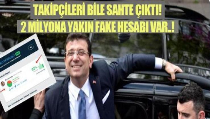 Ekrem İmamoğlu'nun Twitter'daki troll ordusunda 2 milyona yakın sahte takipçi var..!