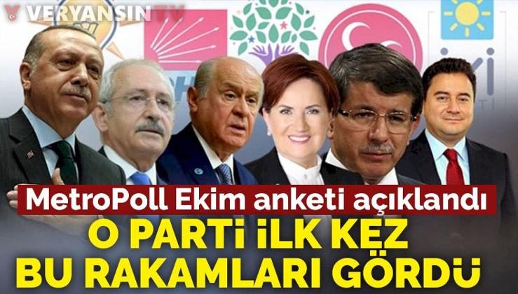 MetroPoll anketi: AKP ve CHP dibe vuruyor!