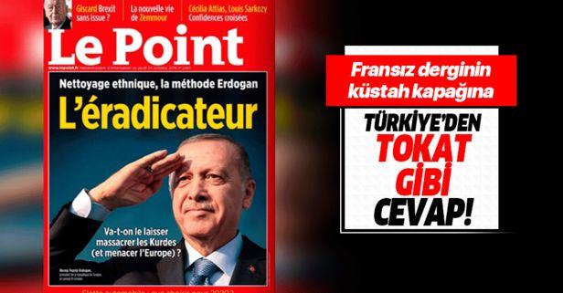 Fransız dergisi Le Point'ten büyük terbiyesizlik!