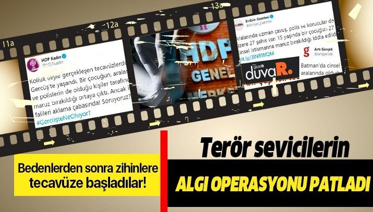 """Batman Cumhuriyet Başsavcılığı'ndan HDP'nin """"Gerçüş'te kamu görevlileri bir çocuğa tecavüz etti"""" iddiasına yalanlama!"""