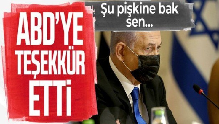 Binyamin Netanyahu, İsrail'e kendisini savunması için verdiği desteklerden ötürü ABD'ye teşekkür etti