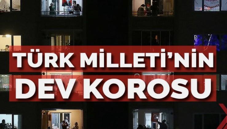 Türk Milleti'nin dev korosu