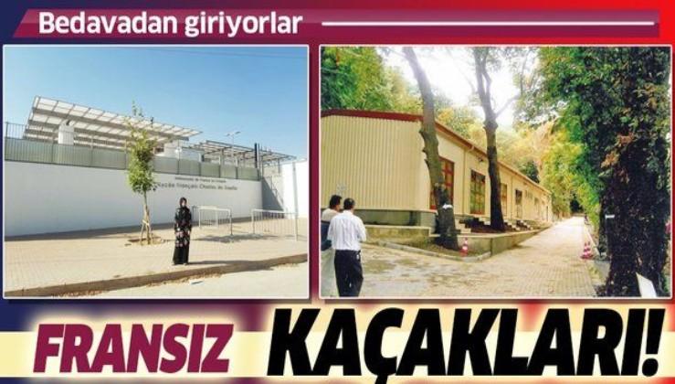 Türkiye'de kaçak Fransız okulu skandalı! Bedavadan üniversiteye giriyorlar