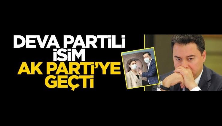 DEVA Partili isim AK Parti'ye geçti