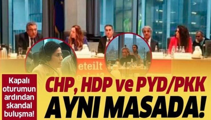 Meclis'teki kritik oturumun ardından CHP, HDP ve PYD/PKK aynı masada!.