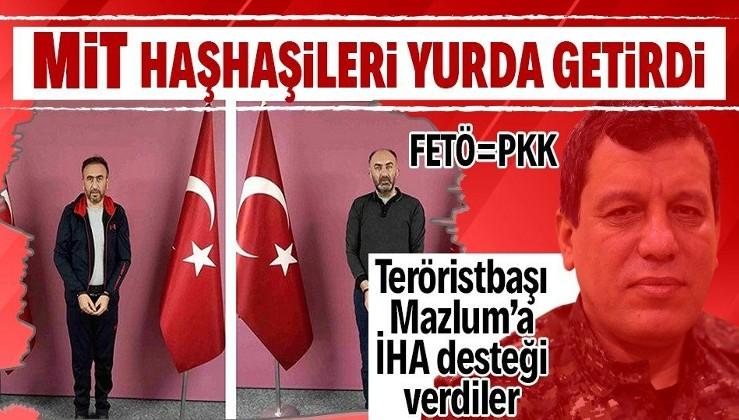 Son dakika: Firari FETÖ'cüler Gürbüz Sevilay ve Tamer Avcı, MİT operasyonuyla yurda getirildi