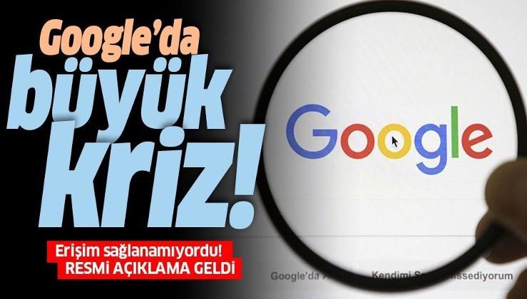 Son dakika: Google çöktü mü? Google ve YouTube neden açılmıyor? İnternete neden girilmiyor?