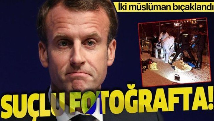 İslam düşmanı Macron hedef gösterdi 2 müslüman kadın bıçaklandı!