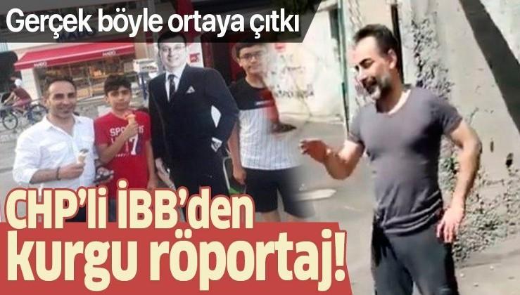İstanbul Büyükşehir Belediyesi'nden kurgu röportaj!