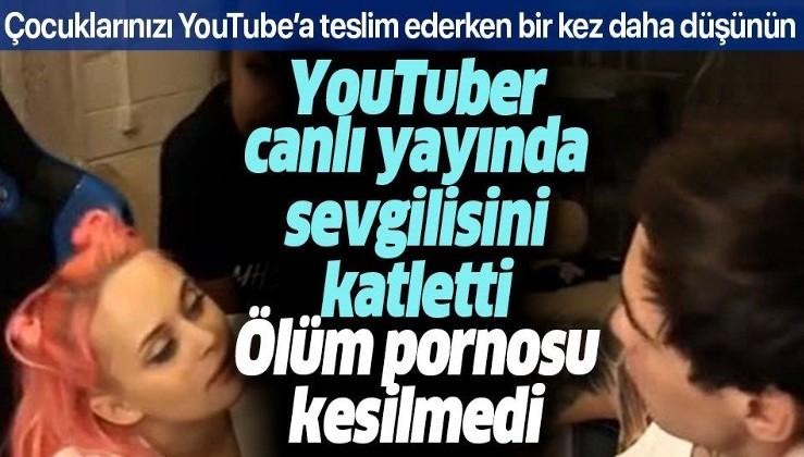 YouTube'un ölüm pornosu: Rus YouTuber Stas Reeflay canlı yayında sevgilisini katletti her şey açık açık yayınlandı