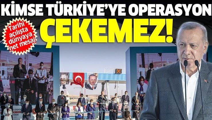 Erdoğan: Artık kimsenin operasyon çekemeyeceği bir Türkiye var