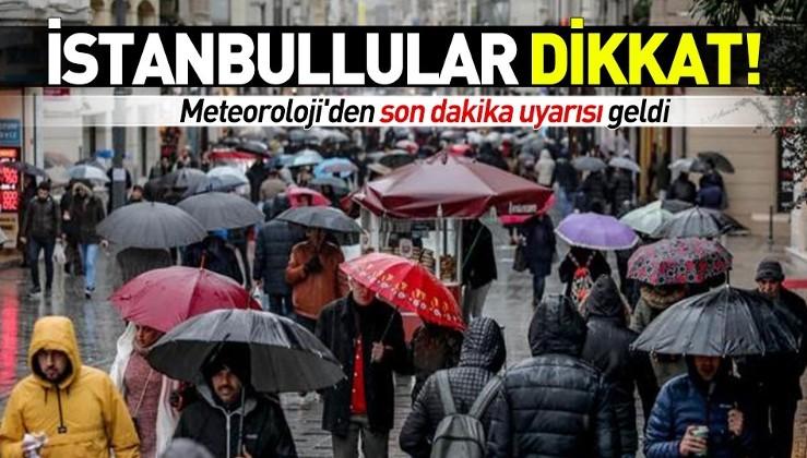 Meteoroloji'den İstanbul için son dakika uyarısı! İstanbul'da kar ne zaman yağacak?.