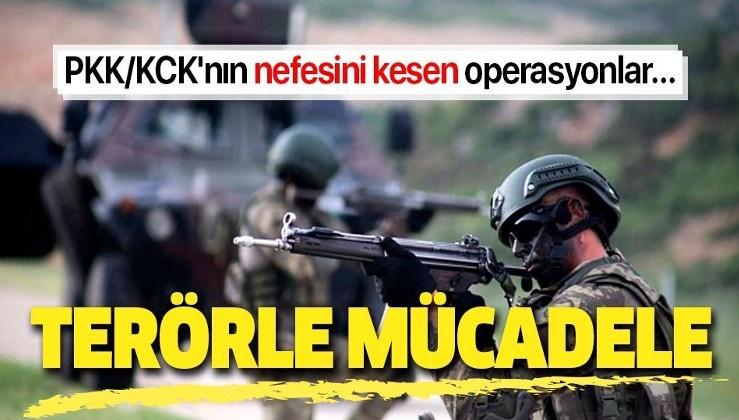 Son dakika: İçişleri Bakanlığı PKK/KCK'nın nefesini kesen operasyonları açıkladı