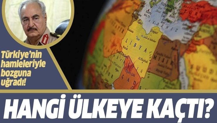 Türkiye'nin hamleleriyle köşeye sıkışan darbeci Hafter hangi ülkeye kaçtı?