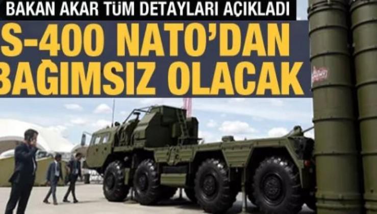 Son dakika: Milli Savunma Bakanı Hulusi Akar'dan son dakika S- 400 açıklaması