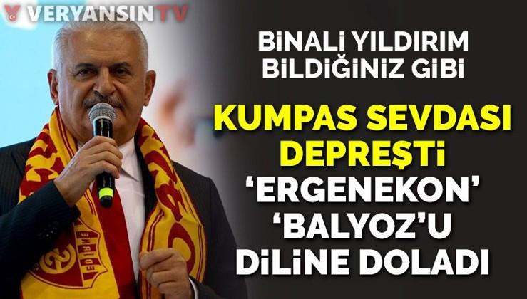 Binali Yıldırım'ın kumpas sevdası depreşti: Yine Balyoz-Ergenekon'u diline doladı