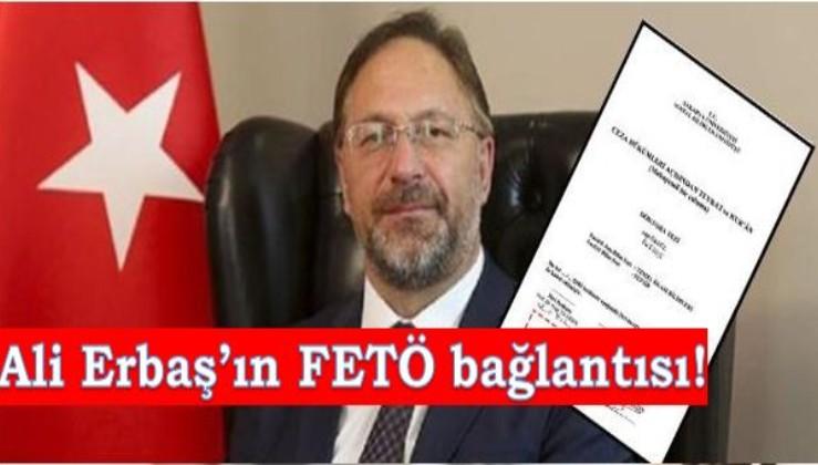 Diyanet İşleri Başkanı Ali Erbaş'ın her yolu FETÖ'ye çıkıyor... Bu kez Adil Öksüz