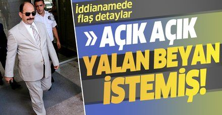 FETÖ'cü Zekeriya Öz hakkında yeni iddianame! Açık açık yalan beyan istemiş