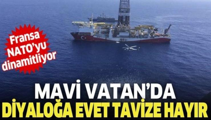 Türkiye'den Doğu Akdeniz'de dik duruş! Diyaloğa evet tavize hayır