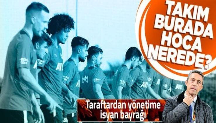 Yönetime isyan bayrağı! Fenerbahçe, 2021-2022 sezonunu hocası olmadan açtı