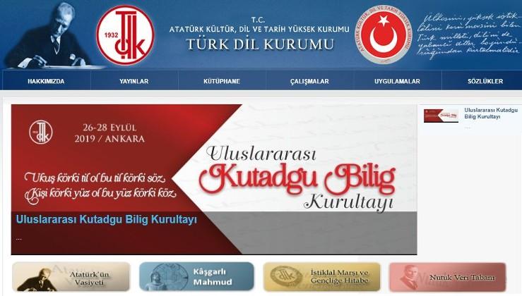 FETÖ trollerinin gazına geldiler ama: Türk Dil Kurumu'nun Atatürk ile İlgili Bölümleri İnternet Ana Sayfasında duruyor!