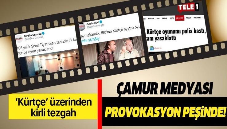Alçaklık diz boyu: Terör örgütü PKK'nın oyunu yasaklandı, konuyu kürtçe diye çarpıttılar!