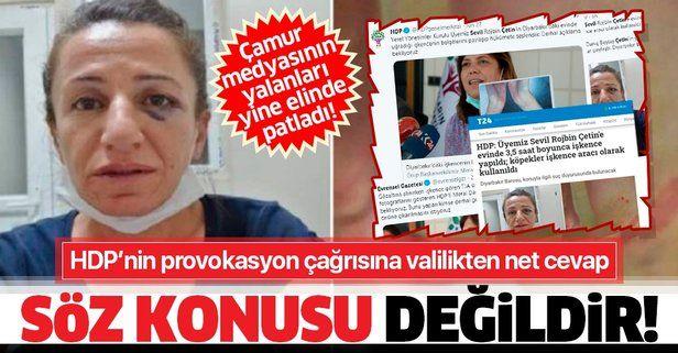 Diyarbakır Valiliğinden köpekle işkence iddiasına yalanlama: Söz konusu değildir