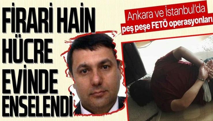 FETÖ/PDY firarisi eski emniyet müdürü Abdullah E. ile firari akademisyen Gözde Ö. hücre evinde yakalandı
