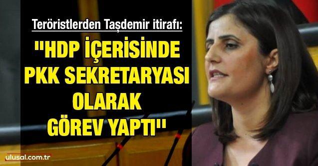 ''HDP içerisinde PKK sekretaryası olarak görev yaptı''