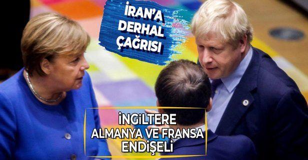 İngiltere, Almanya ve Fransa endişeli! İran'a metal uranyum çağrısı yaptılar
