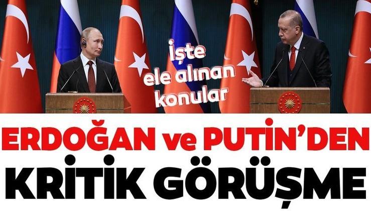 Muhalefetin Biden'i selamladığı saatlerde Erdoğan ve Putin'den kritik görüşme