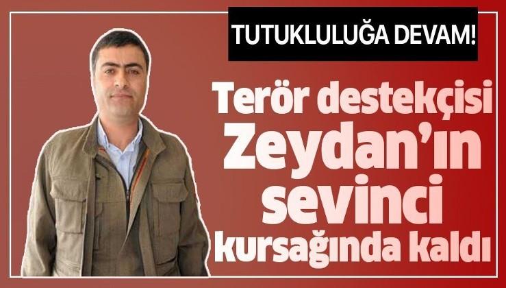 HDP'li Abdullah Zeydan hakkındaki tahliye kararı durduruldu!.