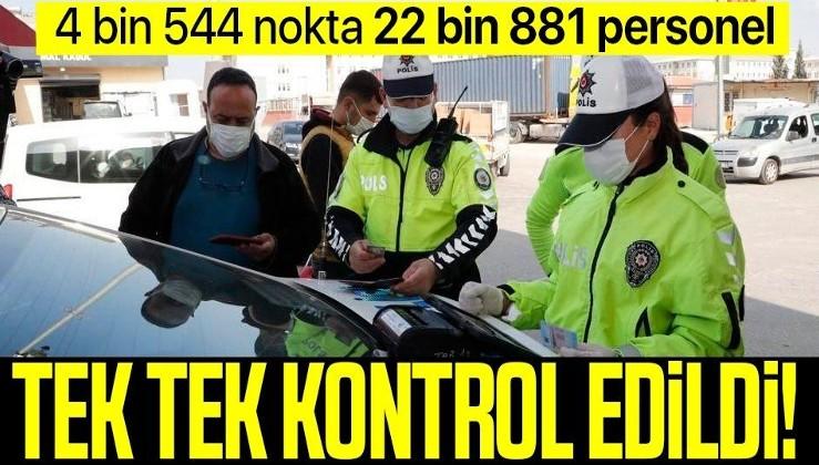 SON DAKİKA: Bakanlıktan eş zamanlı Trafik, Motosiklet ve Traktör Uygulaması: 3 bin 549'u trafikten men edildi