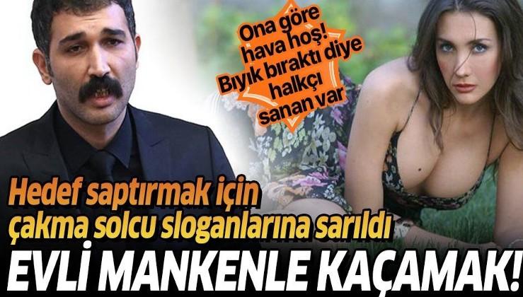 Evli manken Pınar Güsar ile yakalanan Barış Atay hedef saptırıyor!