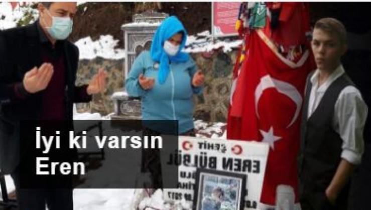 Şehit Eren Bülbül, 23 Nisan Ulusal Egemenlik ve Çocuk Bayramı'nda da unutulmadı